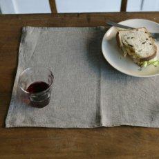 画像4: 【ランチや朝食、おやつの時間、来客時などにも】リネンプレイスマット  (4)