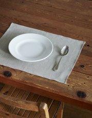 画像1: 【ランチや朝食、おやつの時間、来客時などにも】リネンプレイスマット  (1)
