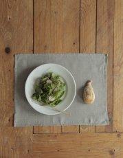 画像2: 【ランチや朝食、おやつの時間、来客時などにも】リネンプレイスマット  (2)