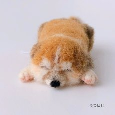 画像2: 【羊毛マスコット】秋田犬 (2)