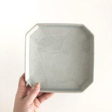 画像2: pave 6sun plate ペイヴ 6寸皿 /  青磁 (2)