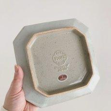 画像3: pave 6sun plate ペイヴ 6寸皿 /  青磁 (3)