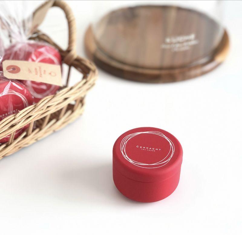 画像1:  アップル・ティー (青森県産りんご使用)  ティーバッグ3p缶入  (1)