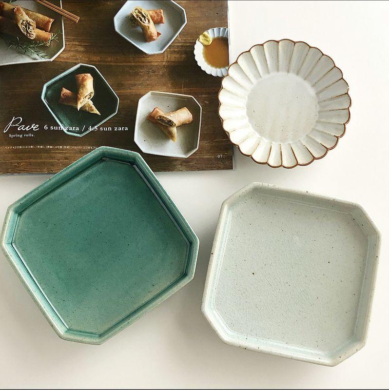 画像1: pave 4.5sun plate ペイヴ 4.5寸皿 (1)