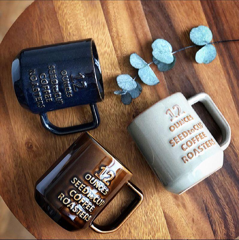 画像1: coffee roasters mug l コーヒーロースターズ マグL (1)