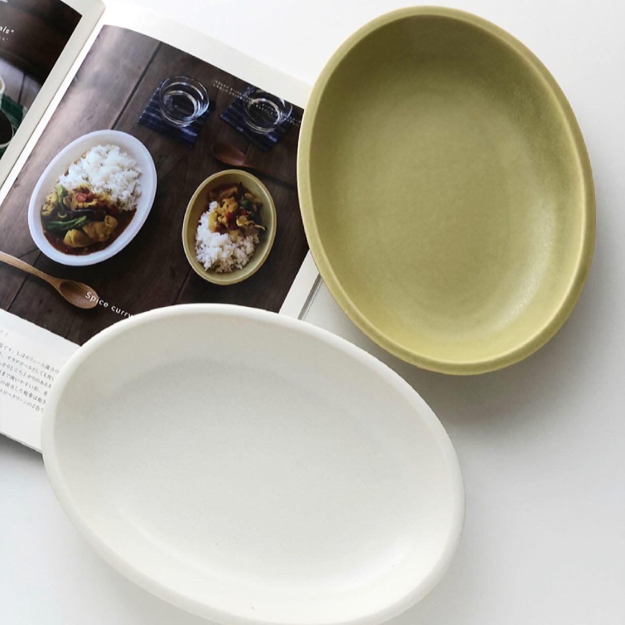 画像1: madurai oval bowl m マドゥライ オーバルボウルM (1)